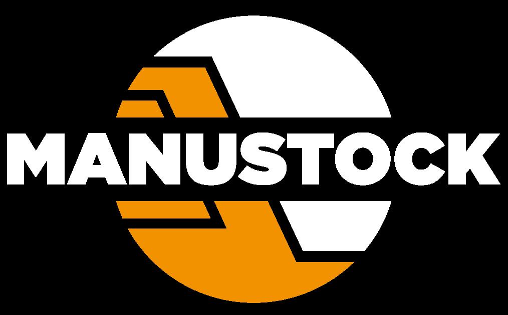 logo Manustock blanc arrondi